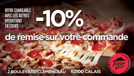 Coupon PIZZA HUT CALAIS