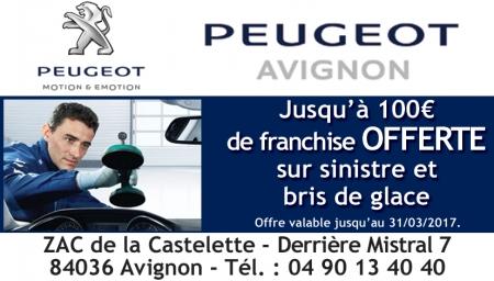 Coupon Peugeot
