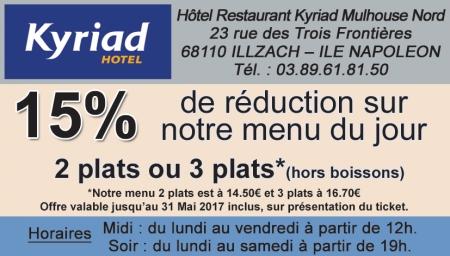 Coupon Hotel Kyriad