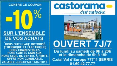Coupon Castorama