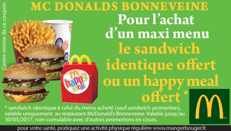 promo restauration rapide mc donald 39 s marseille. Black Bedroom Furniture Sets. Home Design Ideas