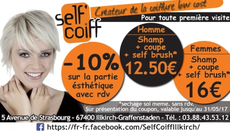 Coupon Self Coiff