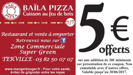 Coupon Baila Pizza