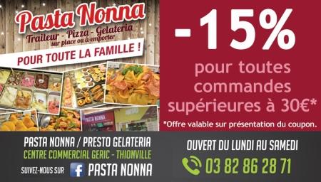 Coupon Pasta Nonna
