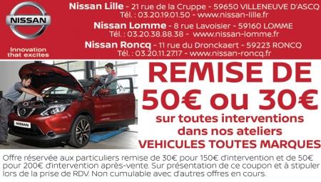 Coupon Nissan