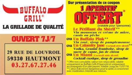 Promo brasserie bistrot cha ne courtepaille denain - Buffalo grill marseille la valentine ...