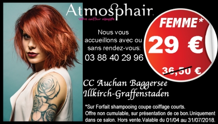 Coupon Atmosphair